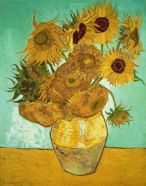 Bridgeman sunflowers