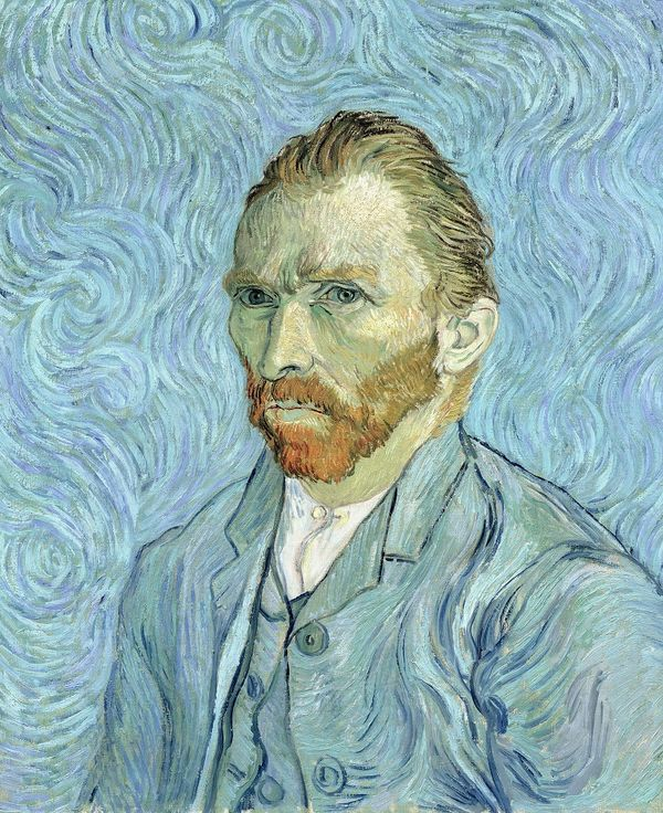 Self portrait  1889  Gogh  Vincent van  Credit  Musee d Orsay  Paris  France Bridgeman Images  XIR 32212  1